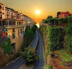 Views of Sorrento, Italy…