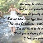 happy birthday wishes sister poems