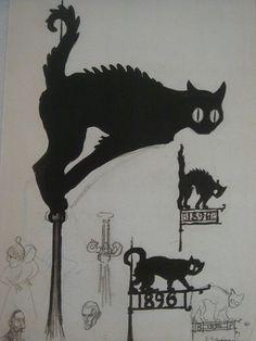 Dark Ebony chatte Galerie