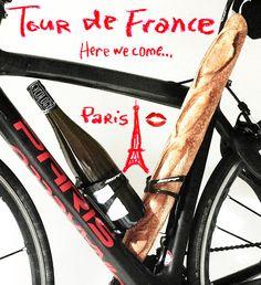 Essential fuel for the Tour De France! A lot better than electrolyte ...