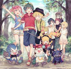 Fanart, Dark Moon, Creatures, Animation, Manga, Wallpaper, Drawings, Cute, Videogames