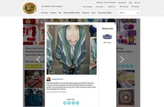 Featured on Lion Brand Website/Blog Customer Creations! Sea Goddess (Cle...