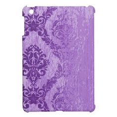 Purple Fading Damask Case For The iPad Mini