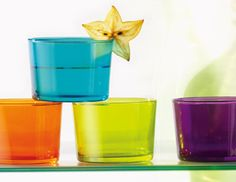 I pinned this from the Spirited Table - Colorful Glassware for All Occasions event at Joss & Main!
