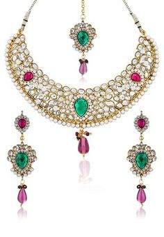 Multi Ethnic Necklace Sets #MyYDHDLook