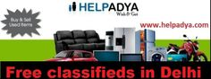 Free classifieds are best way of getting accepted via Free Classifieds in Delhi for Buy and sell with the help of Classified  Best  list India sites you can endorse your new make simply. Help Adya is a Classified ad portal where you can place your free ads together with huge range of categories such as five star hotels, cars and bikes, food, doctors, pet care, wedding and much more. To identify more about free ad Posting visit www.helpadya.com .