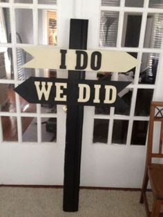 Need a sign like this in navy blue & lime green for the yard.