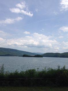 Lake Moomaw  Bath county VA