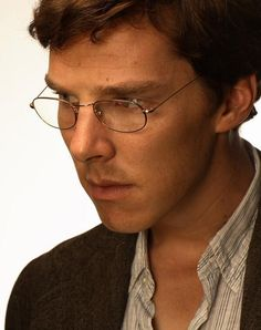 Love him with glasses