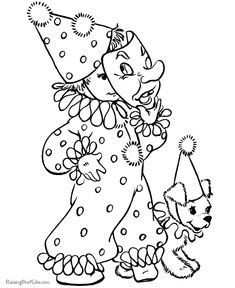 Hallowen Coloring, Clown Costume Halloween Coloring Pages Print Out: Clown Costume Halloween Coloring Pages Print OutFull Size Image Free Halloween Coloring Pages, Fall Coloring Pages, Free Printable Coloring Pages, Coloring Books, Adult Coloring, Halloween Doodle, Vintage Halloween, Clown Halloween Costumes, Halloween Party