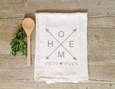home linen dish towel