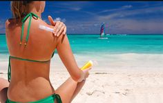 Cuidado de la piel para evitar quemaduras solares.
