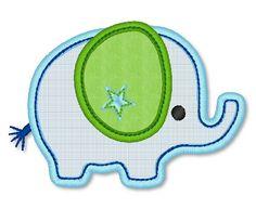 Applique Elephant Boy