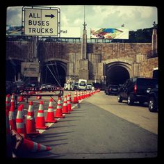 The Lincoln Tunnel transports over 120,000 commuters from New Jersey to New York each day.