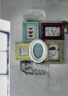 Distressed Frames » Bright Bold and Beautiful Blog