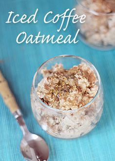Iced Coffee Overnight Oatmeal