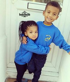 Junior - 3 Years & Destiny - 2 Years • Nigerian & Caucasian British ❤❤ FOLLOW @beautifulmixedkids on instagram