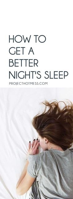 Struggling to get a decent sleep at night? You're not the only one. We all know the importance of sleep but some of us struggle to shut off and actually rest. But it doesn't have to be this way. Here's how you can get a better night's sleep - and it's a lot easier than you might think.