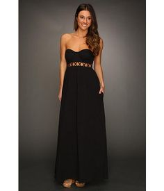 Mara Hoffman Lattice Strapless Dress