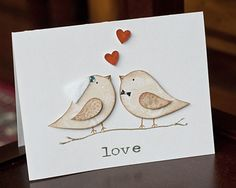 Super lovely wedding card. I might be making a few of these for this season's marriages...