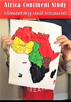 Resources for an Africa Unit Study. Includes a book list and activities appropriate for kindergarten through elementary ages. Geography For Kids, Geography Lessons, World Geography, Social Studies Activities, Kindergarten Activities, Science Activities, Geography Activities, Preschool Lessons, Africa Activities For Kids