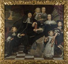 Hendrik ten Oever, Unknown Family, 1669, Stedelijk Museum Zwolle (on loan from Rijksmuseum Amsterdam)