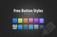 Medialoot - Free Photoshop Button Styles