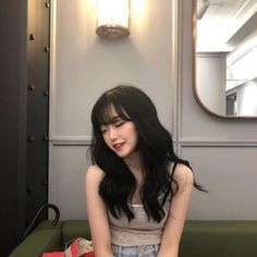 Image about girl in Asian People ❤ by Haruka on We Heart It Mode Ulzzang, Ulzzang Korean Girl, Cute Korean Girl, Asian Girl, Korean Beauty, Asian Beauty, Uzzlang Girl, Korean Aesthetic, Ulzzang Fashion