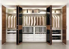 built in bedroom closet ideas - Google Search