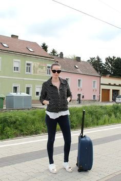 Stiletto in the Cloud: Travelling with Polka Dots