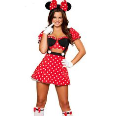 minnie minnie mouse costumes adults halloween costumes for women party cosplay y minnie mouse dress fantasy women