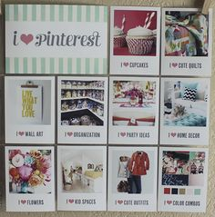 pinterest page idea for project life. Awesome idea!! so doing this now and a year from now