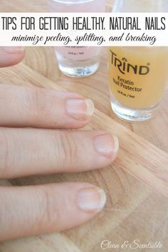 How to Get Healthy Nails and Nail Care Giveaway