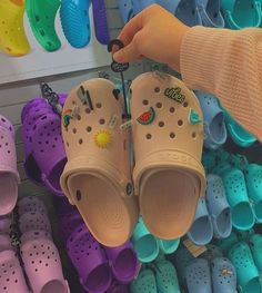do you fw crocs ? 🐕 click the link in my bio & build your own human! Trendy Shoes, Cute Shoes, Me Too Shoes, Crocs Fashion, Fashion Shoes, Gucci Fashion, Fashion Outfits, Vsco, Crocs Shoes