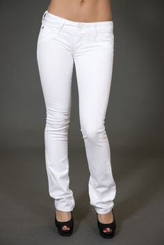 Hudson Jeans. Love white jeans