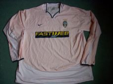 0c33b35bc 2003 2004 Juventus Away L s Football Shirt Adults XXL Italy Maglia Classic Football  Shirts