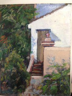 Pequeño apunte al oleo. Painting, Art, Gardens, Art Background, Painting Art, Kunst, Paintings, Performing Arts, Painted Canvas