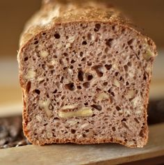 Walnuss-Dinkelbrot, so saftig und lecker ! – Preppie and me