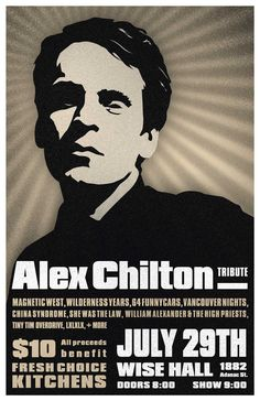 Alex Chilton Alex Chilton, High Priest, Box Tops, Big Star, Rock Bands, New Orleans, Fingers, Music, Musica