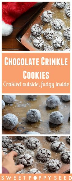 One of the best holiday cookies around! Pretty on the outside and fudgy on the inside, what's not to like!