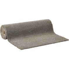 Taupe tapijt met gesneden pool. Rolbreedte 400 cm.