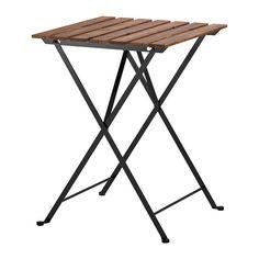 TÄRNÖ Pöytä, ulkokäyttöön IKEA Kestävyyden ja luonnollisuuden vahvistamiseksi kaluste on esikäsitelty osittain läpikuultavalla petsillä.