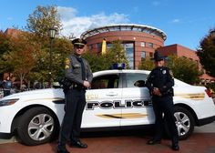 VCU Police Department and Virginia Tech Police have partnered for a two-week officer exchange, a first-of-its-kind program giving a patrol supervisor from each department the opportunity to work with colleagues in a campus environment that is different from their own.
