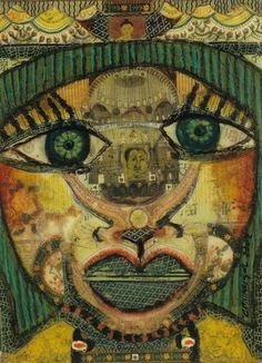 Anne Grgich, visionary outsider artist.