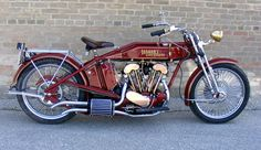 Copperhead 1917 Harley Davidson Replica from a 1979 Sportster