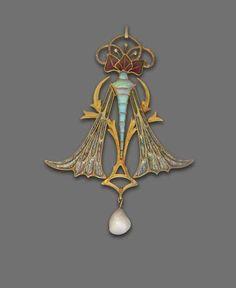 Pendentif Art Nouveau - Georges Fouquet
