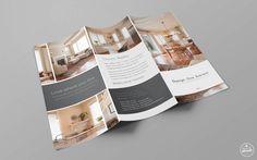 Interior Design Company Rack Card Design Project