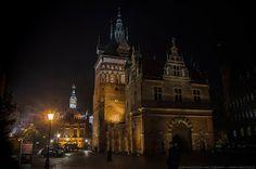 Amber Museum in Gdańsk bu night