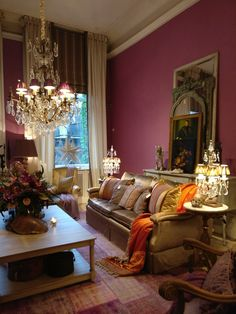Pieter Porters room Purple Interior, Royal Residence, Fantasy House, Paris Apartments, Living Area, Living Rooms, House Rooms, Decoration, Future House