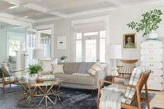 tall campaign dresser in white  How to Decorate a Really Large Living Room